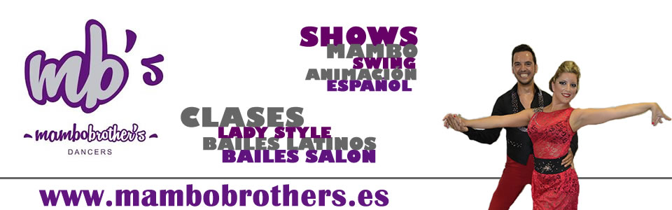 Mambo Brother's Dancers Slider clases Valencia